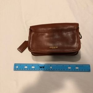 Coach women's leather bag